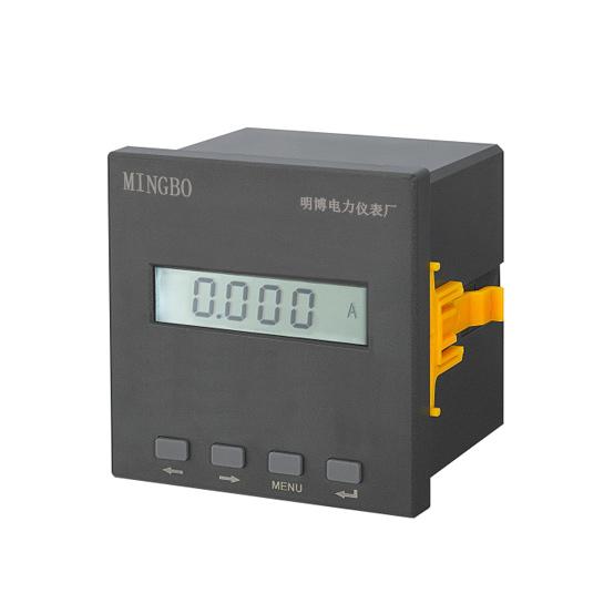 液晶单相电流表